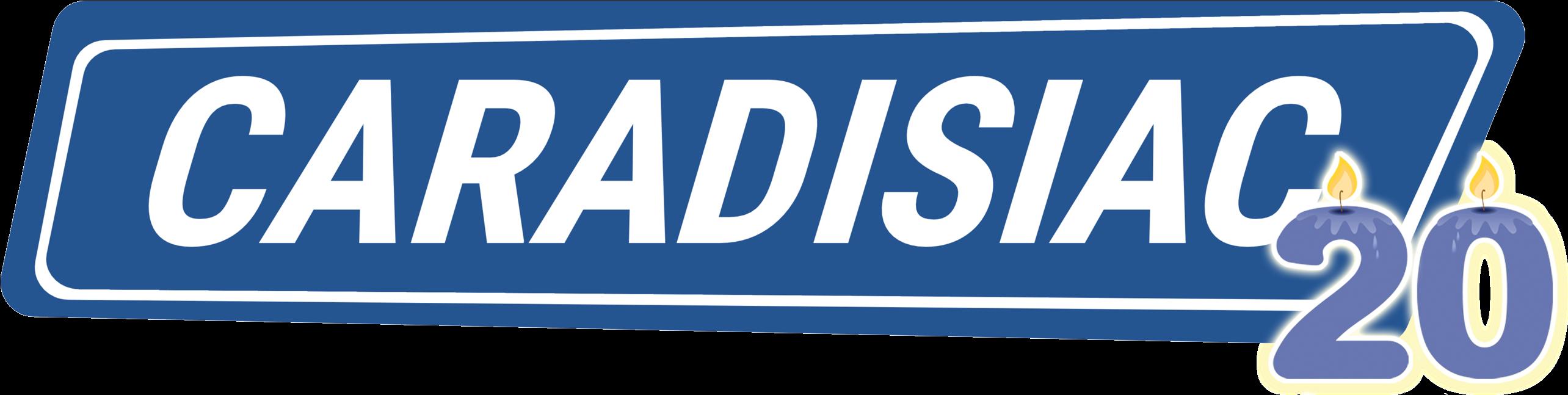 Logo Caradisiac 20 ans