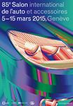 Affiche du Salon de Genève 2015